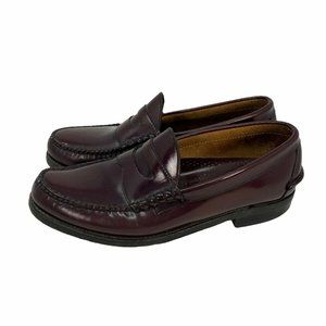 Johnston & Murphy Men's Burgundy Leather Loafers